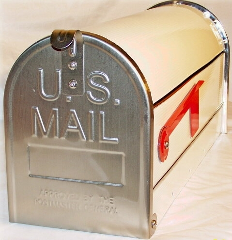 """Whitebox"" Edelstahl US-Mailbox"